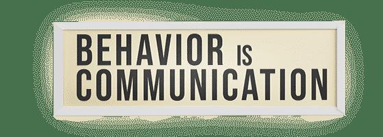 BehaviorIsCommunication